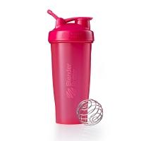 Шейкер BlenderBottle Classic 828мл Full Color Pink (малиновый)