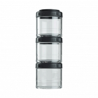 Контейнеры BlenderBottle GoStak 100мл (3 контейнера) черный