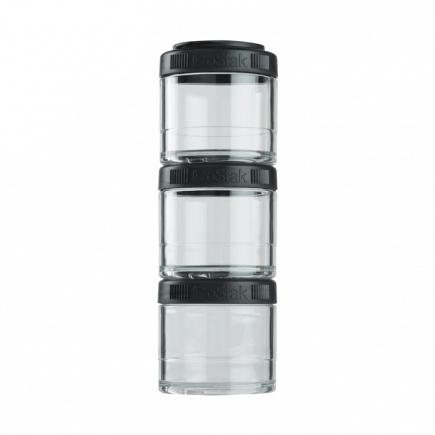 Контейнеры BlenderBottle GoStak 100мл (3 контейнера) черный BB-G100-BLCK