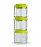 Контейнеры BlenderBottle GoStak 100мл (3 контейнера) зеленый