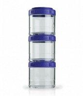 Контейнеры BlenderBottle GoStak 100мл (3 контейнера) фиолетовый