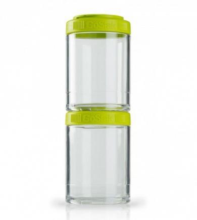 Контейнеры BlenderBottle GoStak 150мл (2 контейнера) зеленый BB-G150-GREE