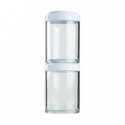 Контейнеры BlenderBottle GoStak 150мл (2 контейнера) белый BB-G150-WHIT