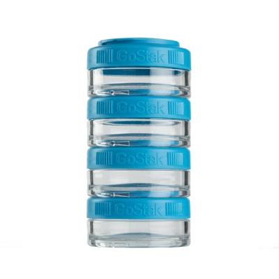 Контейнеры BlenderBottle GoStak 40мл (4 контейнера) голубой BB-GS40-AQUA