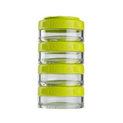 Контейнеры BlenderBottle GoStak 40мл (4 контейнера) зеленый BB-GS40-GREE
