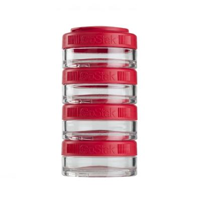 Контейнеры BlenderBottle GoStak 40мл (4 контейнера) красный BB-GS40-REDD