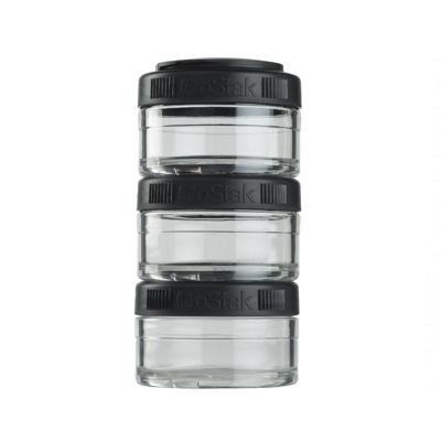 Контейнеры BlenderBottle GoStak 60мл (3 контейнера) черный BB-GS60-BLCK