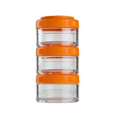 Контейнеры BlenderBottle GoStak 60мл (3 контейнера) оранжевый BB-GS60-ORAN