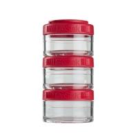 Контейнеры BlenderBottle GoStak 60мл (3 контейнера) красный