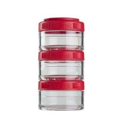 Контейнеры BlenderBottle GoStak 60мл (3 контейнера) красный BB-GS60-REDD