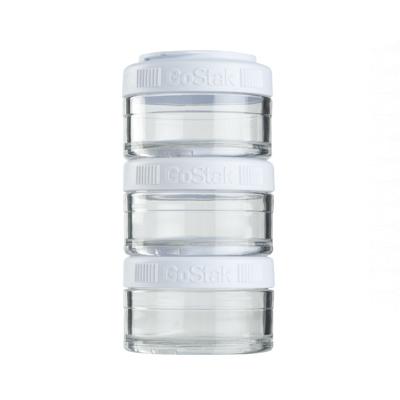 Контейнеры BlenderBottle GoStak 60мл (3 контейнера) белый BB-GS60-WHIT
