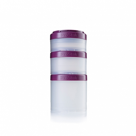 Набор BlenderBottle ProStak Expansion Pak Plum (сливовый) BB-PREX-CPLU