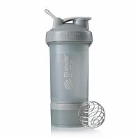 Набор BlenderBottle ProStak Full Color Pebble Grey (серый графит)