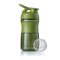 Шейкер BlenderBottle SportMixer 591мл Moss Green (оливковый)