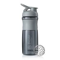 Шейкер BlenderBottle SportMixer 828мл Pebble Grey (серый графит)