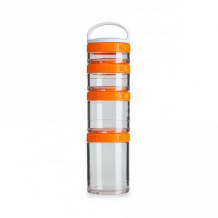 Контейнеры BlenderBottle GoStak Starter 4Pak (4 контейнера) оранжевый BB-STAR-ORAN
