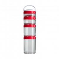 Контейнеры BlenderBottle GoStak Starter 4Pak (4 контейнера) красный