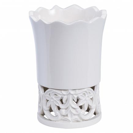 Стакан для зубной пасты Creative Bath Belle BEL11WH