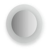 Зеркало с матированными частями Evoform Fashion 40х40см