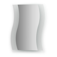 Зеркало с матированными частями Evoform Fashion 40х50см