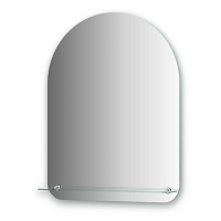 Зеркало с полочкой Evoform Optima 60х80см