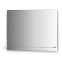 Зеркало с полочкой и фацетом Evoform Attractive 80х60см