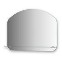 Зеркало с полочкой Evoform Optima 70х55см
