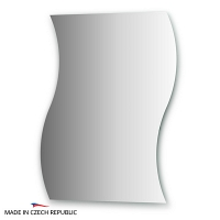 Зеркало с частичным фацетом FBS Practica 70x90см