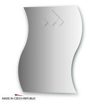 Зеркало с декоративным элементом FBS Decora 60x75см
