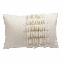 Подушка с объемным узором Giselle White DG Home Pillows