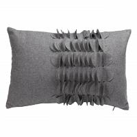 Подушка с объемным узором Giselle Gray DG Home Pillows