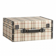 Декоративный чемодан Estilo Burberry Grande DG Home Decor