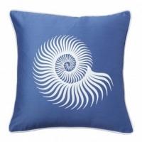 Подушка с принтом Sea Shell Diamond-Blue DG Home Pillows