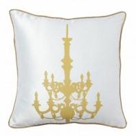 Подушка с принтом Chandelier White DG Home Pillows