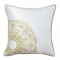 Подушка с принтом Flower Weaving White DG Home Pillows