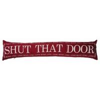 Подушка с надписью Shut That Door DG Home Pillows