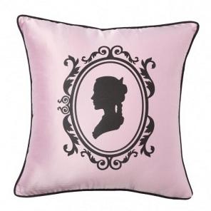 Подушка с принтом Ladies' Profile Pink DG Home Pillows DG-D-PL21P