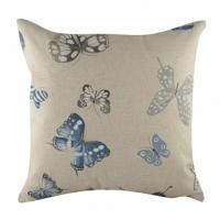 Подушка с принтом Blue Butterflies DG Home Pillows