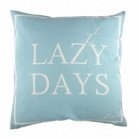 Подушка с надписью Lazy Days DG Home Pillows