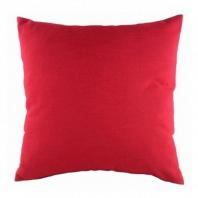 Однотонная подушка Red DG Home Pillows