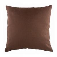 Однотонная подушка Brown DG Home Pillows