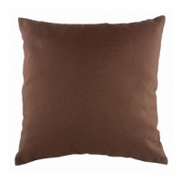 Однотонная подушка Brown DG Home Pillows