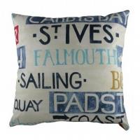 Большая подушка с надписями Seaport DG Home Pillows