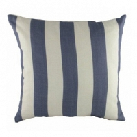 Подушка с полосками Wide Marine Denim DG Home Pillows