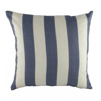 Подушка с полосками Wide Marine Denim DG Home Pillows DG-D-PL246