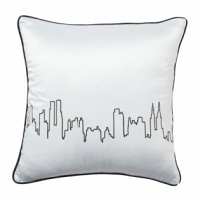 Подушка с принтом City Waves White DG Home Pillows