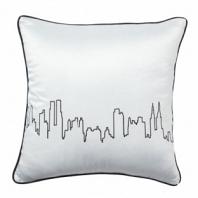 Подушка с принтом City Waves White DG Home Pillows