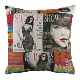 Подушка с принтом Fashion DG Home Pillows DG-D-PL267