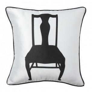 Подушка с принтом Chair White DG Home Pillows DG-D-PL26W