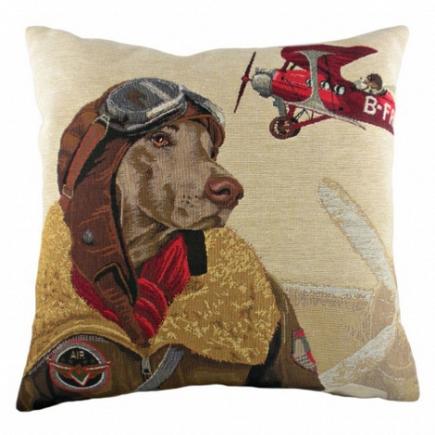 Подушка с принтом Doggie Fighters Red DG Home Pillows DG-D-PL274
